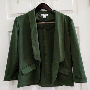 Say What Green Knit Blazer